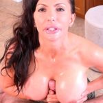 CATALINA CRUZ – Catalina Cruz pov titty fucking while her big tits are all oiled up