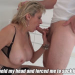 LADY SONIA – I Had No Choice But To Suck His Cock