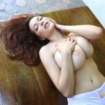 TESSA FOWLER – Yellow lace 5D 1