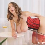 LUCY WILDE – Red Corset 5