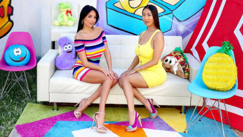 Tit And Ass Fucking With Anissa Kate And Sharon Lee
