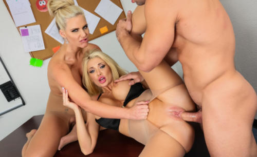 Phoenix Marie, Summer Brielle And Johnny Castle In My First Sex Teacher