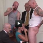 ARIELLA FERRERA – Gangbang Office Whore Clip #1