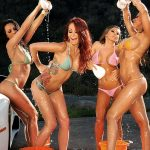 MADISON IVY, KIRSTEN PRICE, MONIQUE ALEXANDER & RACHEL STARR – Carwash Day! Bubble Butts And Sudsy Sluts