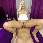 BLANCHE BRADBURRY – Blanche In Action With Her Man In Pink Bed