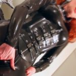 KATIE DAVIES – Catsuited And Booted