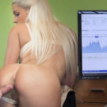 BLANCHE BRADBURRY – Dealing with lingerie shop naked