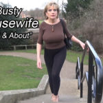 LADY SONIA – Busty Housewife Out And About
