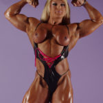 LISA CROSS – Blonde babe Lisa Cross is one hell of a muscular babe