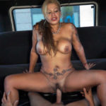 ALEXA BLUN – Trips, sweat and bumps... Our FuckInVan could deal with all that and even more... But the situation changed when Alexa Blun, a 45 year-old-MILF, came to let us know what she's able to do when she's got to deal with a fat dick like Albertito's one. It was meant to happen. From the moment she got in the van, the temperature started to increase and Leoncito decided that the best thing they could do was calling the crane. Every cloud has a silver lining; he finally had the chance to be a spectator without having to look through the rearview mirror