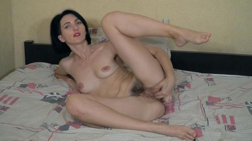 Sara D Aglaya enjoys hot orgasms as she masturbates